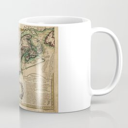 Map of the East Coast of America (1756) Coffee Mug