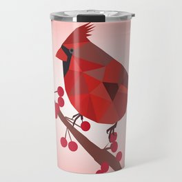 North Cardinal Bird Travel Mug