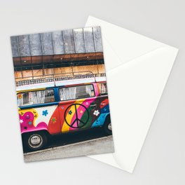 combi color flower pattern Stationery Cards