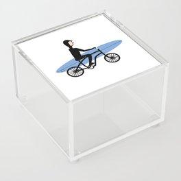 Winter surfer Acrylic Box