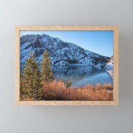 Frozen Lake Ellery Framed Mini Art Print