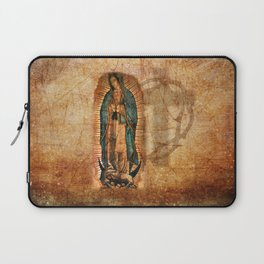 Antique Vintage Our Lady of Guadalupe Laptop Sleeve