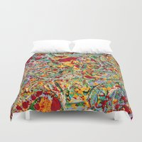 emerald Duvet Covers featuring Emerald by VPart