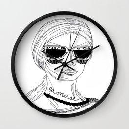 La muse Wall Clock