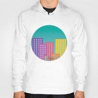 metropolis Hoodies featuring Metropolis by Gellygen Creative