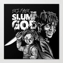 Ski and Chucky Canvas Print