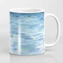 Sunset and Ocean Watercolor Coffee Mug