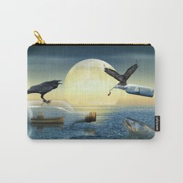 Bottle Ship in trouble Carry-All Pouch