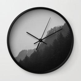 Pluviophile B&W Wall Clock