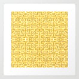 symmetry 7 Art Print