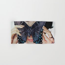 Morpho Butterfly Hand & Bath Towel