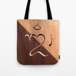 Balinese Om Tote Bag