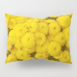 Autumn Gold - Chrysanthemums Pillow Sham