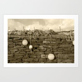 Marker Bouys Donegal Tint Art Print