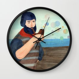 Hey there sailor! Wall Clock