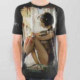 Mathilda - Leon the Professional All Over Graphic Tee