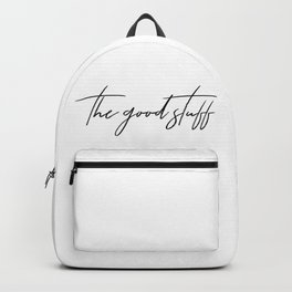 the good stuff Backpack