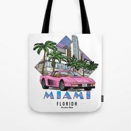 Miami, bedrock of diversity! Tote Bag