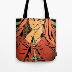 Virgin Mary (In color) Tote Bag