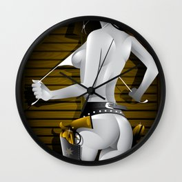 Sin City-Nancy Wall Clock