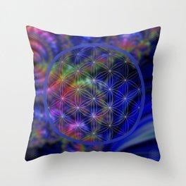 Sacred Geometry Throw Pillow