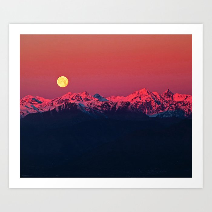 In The End #society6 #prints Art Print