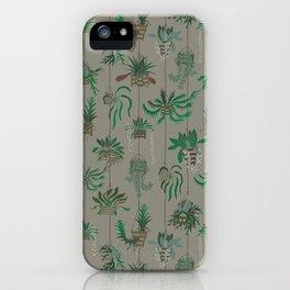 Vanda Basket Plants Ancient Blooms iPhone Case