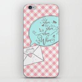 Whoa whoa whoa whoa! Peter Kavinsky iPhone Skin