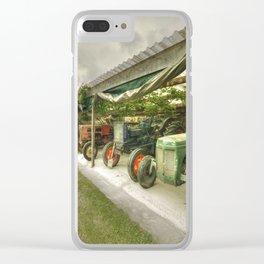 Devon Tractors Clear iPhone Case