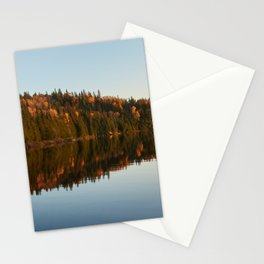 Lake in Mauricie, Canada Stationery Cards