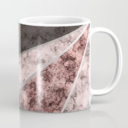 Marble . Combined abstract pattern . Coffee Mug