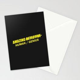 b99 - amazing detective human slash genius Stationery Cards