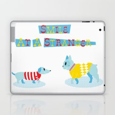 Smile at a Stranger Laptop & iPad Skin