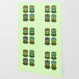 Chibi Ninja Turtles Wallpaper