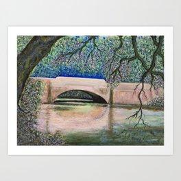 Biltmore Bridge Art Print