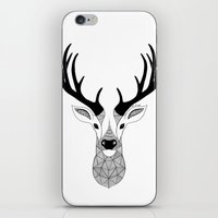 deer iPhone & iPod Skins featuring Deer by Art & Be