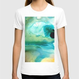 Peaceful Understanding - Abstract Art By Sharon Cummings T-shirt