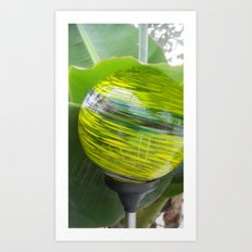 Lime Jello Art Print