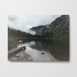 Avalanche Lake, Glacier National Park, Montana Metal Print