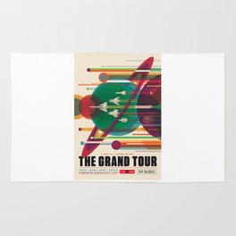 Grand Tour - NASA Space Travel Poster Rug