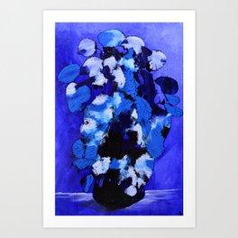 Abstract 99 - Blue Rhapsody Art Print