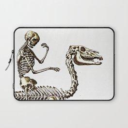 Horse Skeleton & Rider Laptop Sleeve