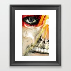 COBAIN Framed Art Print