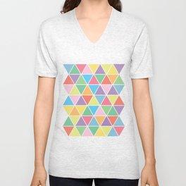 Summer Triangles Unisex V-Neck