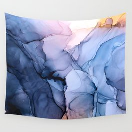 Captivating 1 - Alcohol Ink Painting Wall Tapestry