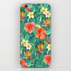 Classic Tropical Garden iPhone & iPod Skin