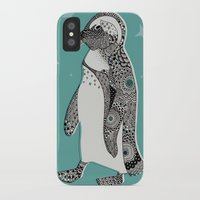 penguin iPhone & iPod Cases featuring Penguin by Rachel Russell