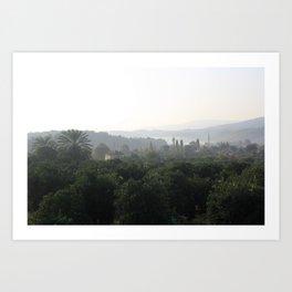 Atakoy Landscape Art Print