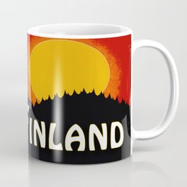 Vintage Finland Travel Coffee Mug