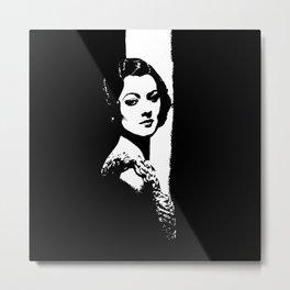 Myrna Loy Is Gorgeous Metal Print